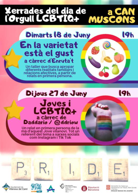 Activitats Orgull LGBTIQ+ Cartell