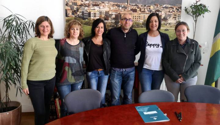 Signatura del conveni 2019 amb l'Institut d'Amilly