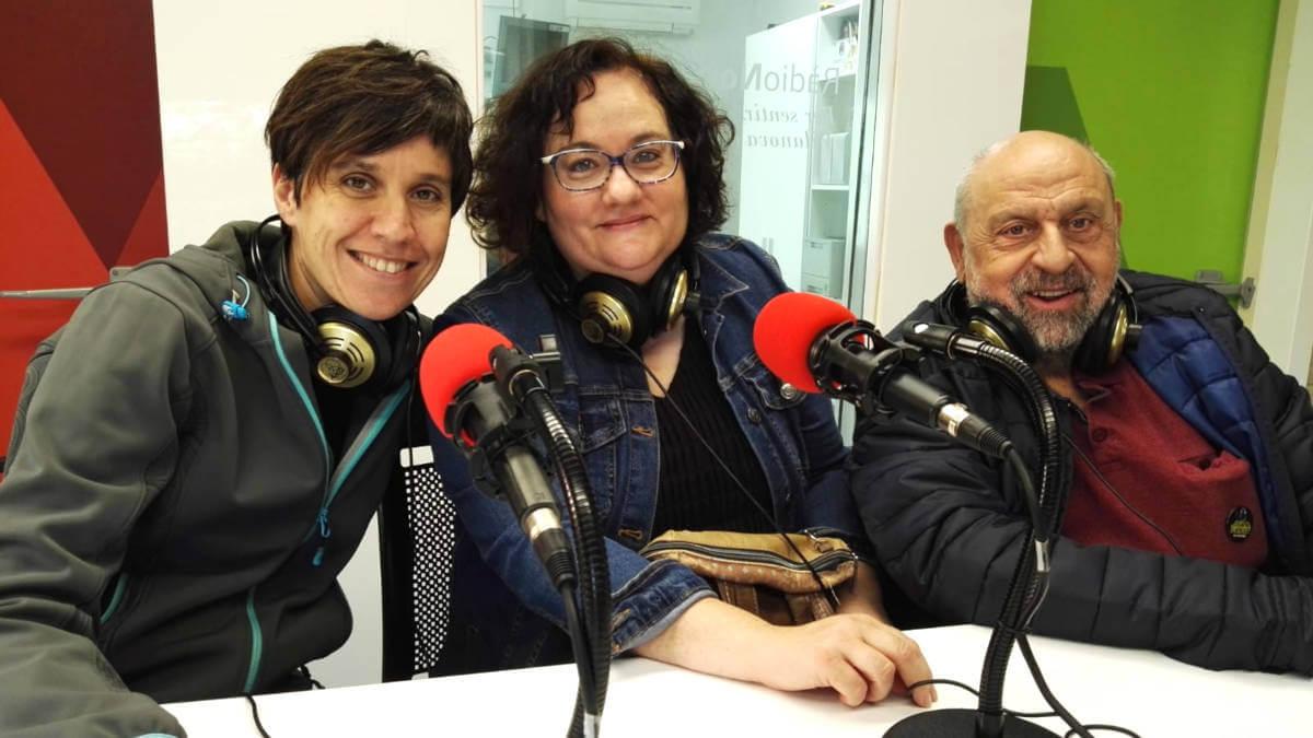 AFADA Menchu Velez, Montse Ibañez i Pere Bartoli (1)