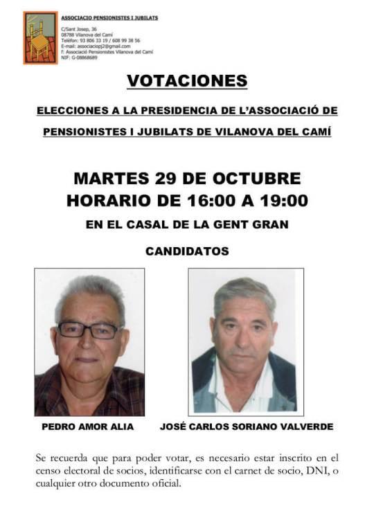 Casal cartell votacions