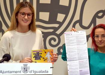 Agenda 25N 2019 presentacio - Foto Ajuntament Igualada