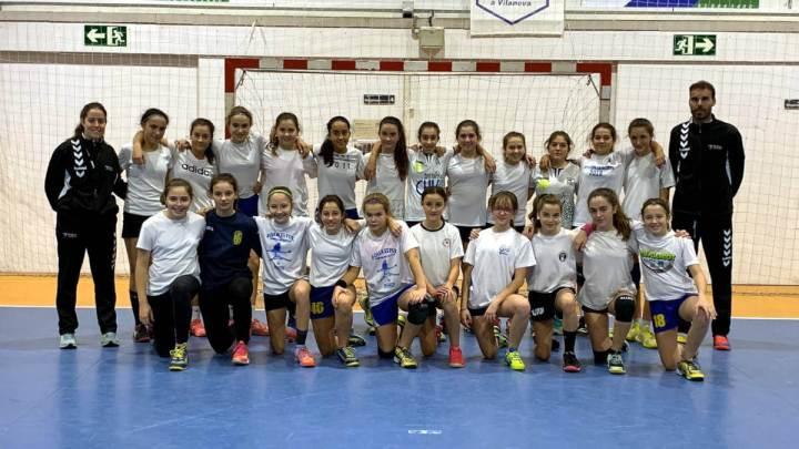 Handbol selecció femenina