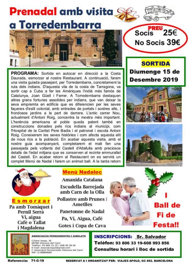 Sortida prenadal-15-12-2019