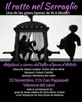 Cartell del taller d'Òpera