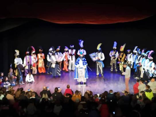 El Patge Makalí parla als nens de Vilanova del Camí