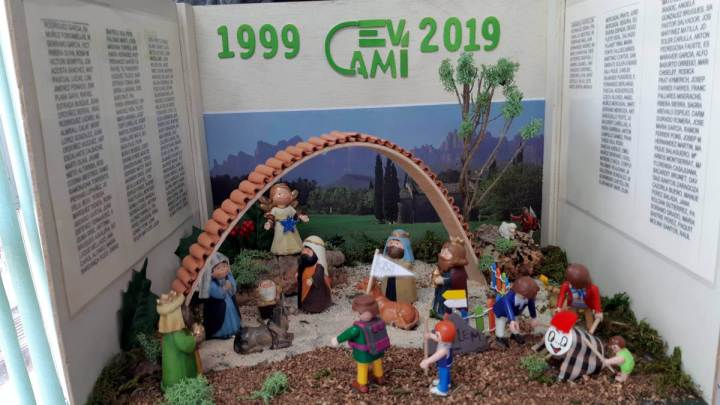 Pessebre commemoratiu del 20è aniversari de la Colla