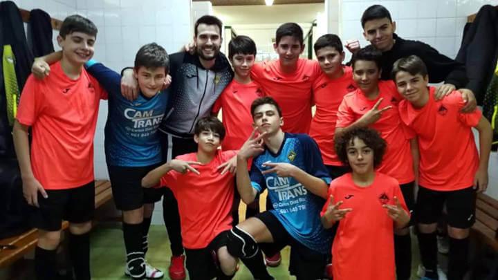 CFS Can Tito Vilanova infantil A 2 Foto Fran Rey