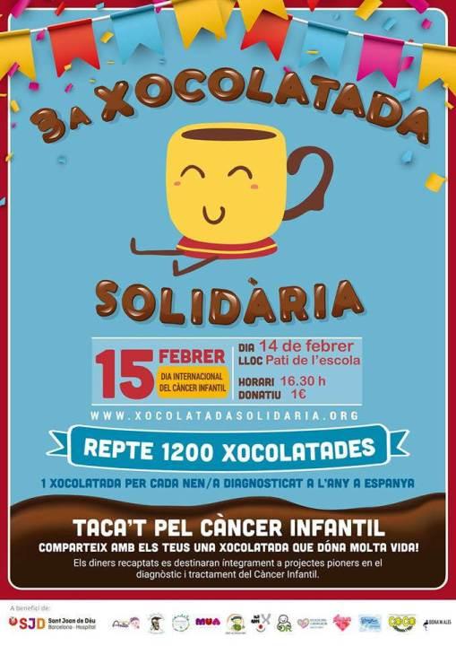 CARTELL XOCOLATADA SOLIDARIA JM2020