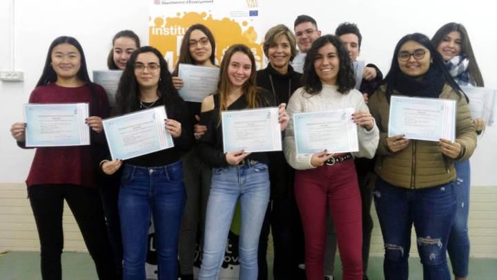 INS Pla de les Moreres diplomes B1 frances 2020