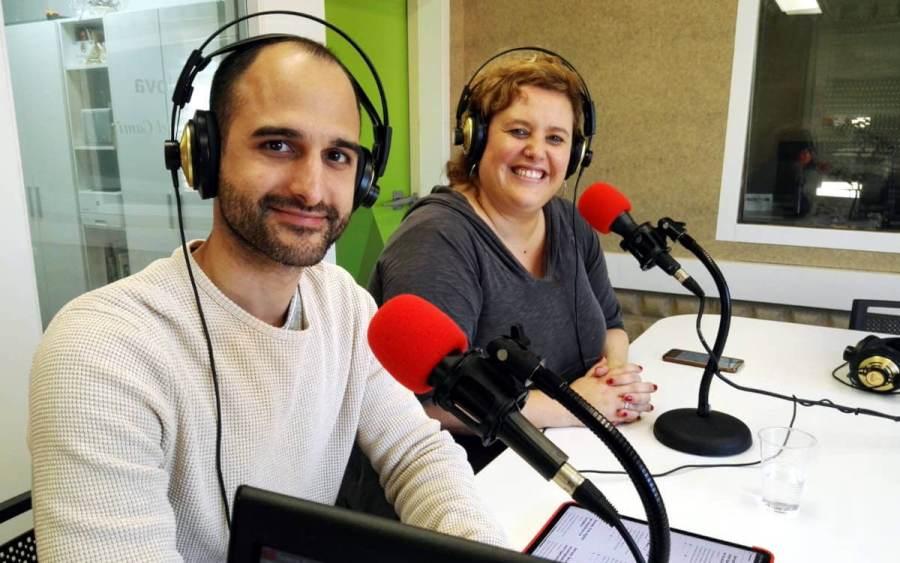 Jordi Sola i Elia Palomas de TIC Anoia 2