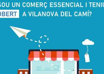 Comerc obert a Vilanova cartell