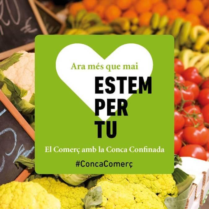 ANUNCI CAMPANYA - ESTEM PER TU - CONCA - VERDURA - imatge