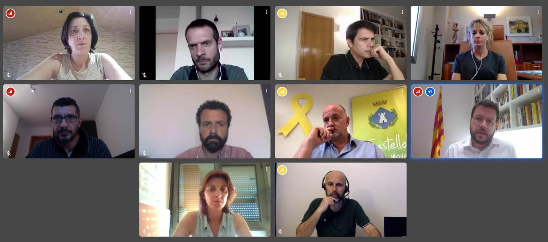 Reunio Pere Aragones mai20