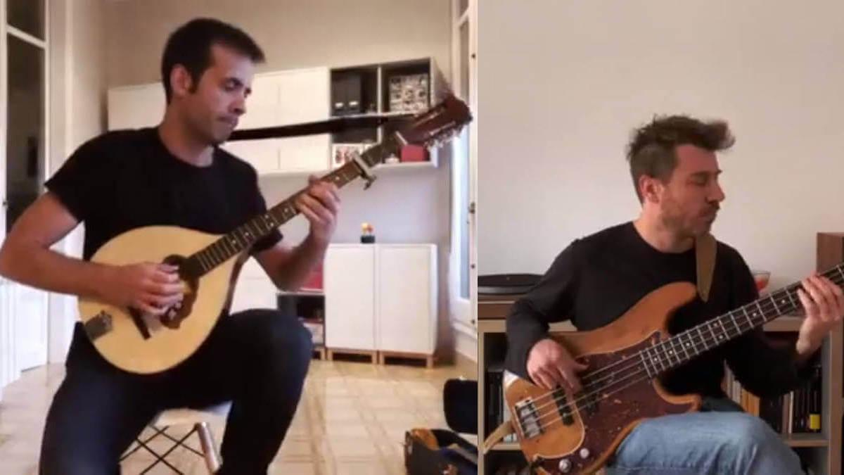 Santi Mendes i Toni Vilaprinyo