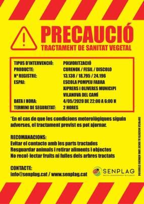 tractament fitosanitari cartell mai20