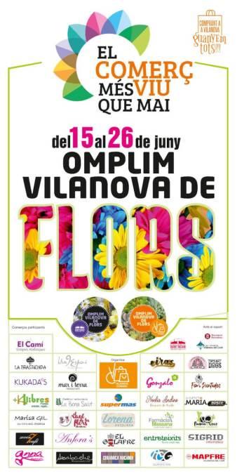 Omplim Vilanova de flors 2020