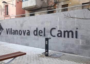 Vilanova del Cami nom
