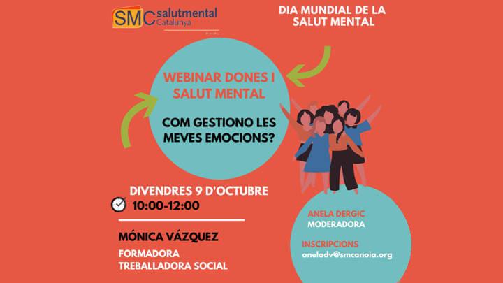 Webinars de  salut mental