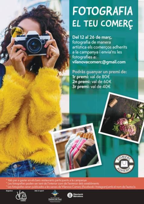 concurs fotografia Vilanova Comerc marc 2021