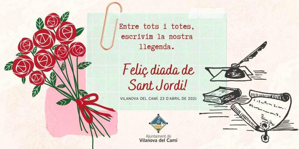 Feliç St Jordi 2021