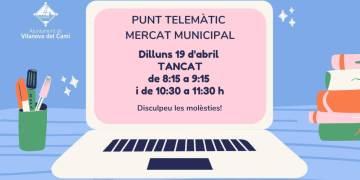Punt telemàtic Mercat Municipal