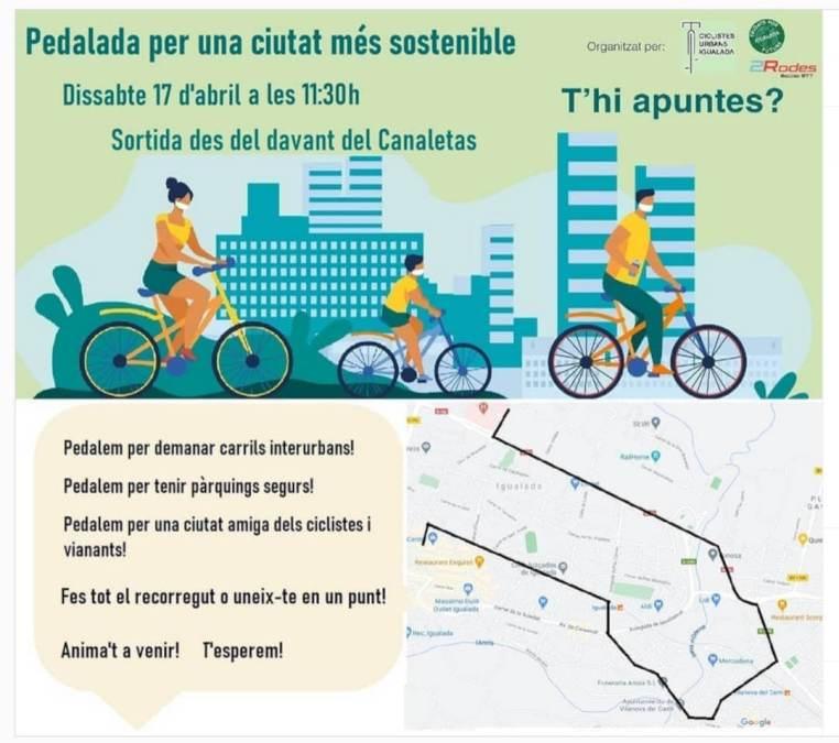 bicicletada pel clima 1