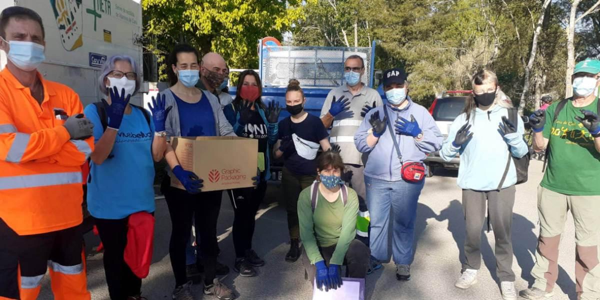 Neteja a Vilanova del Cami Lets Clean Up maig 21 (2)