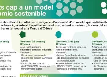 Poligons dels Plans xerrades sostenibiltat