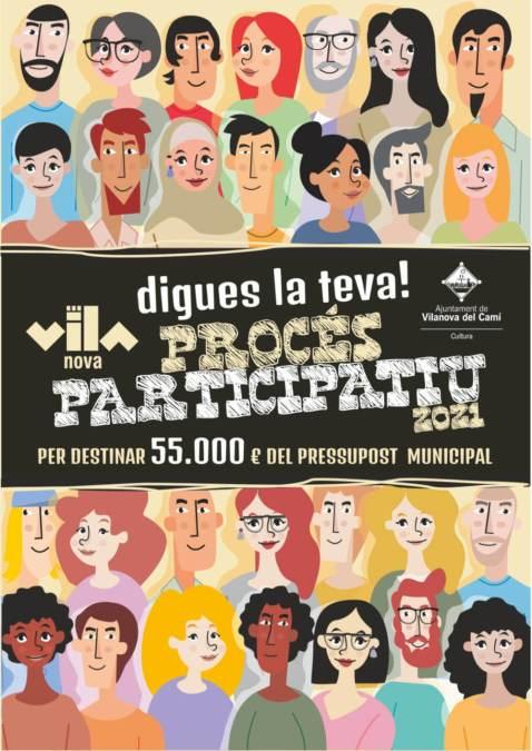 procés participatiu 2021-cartell