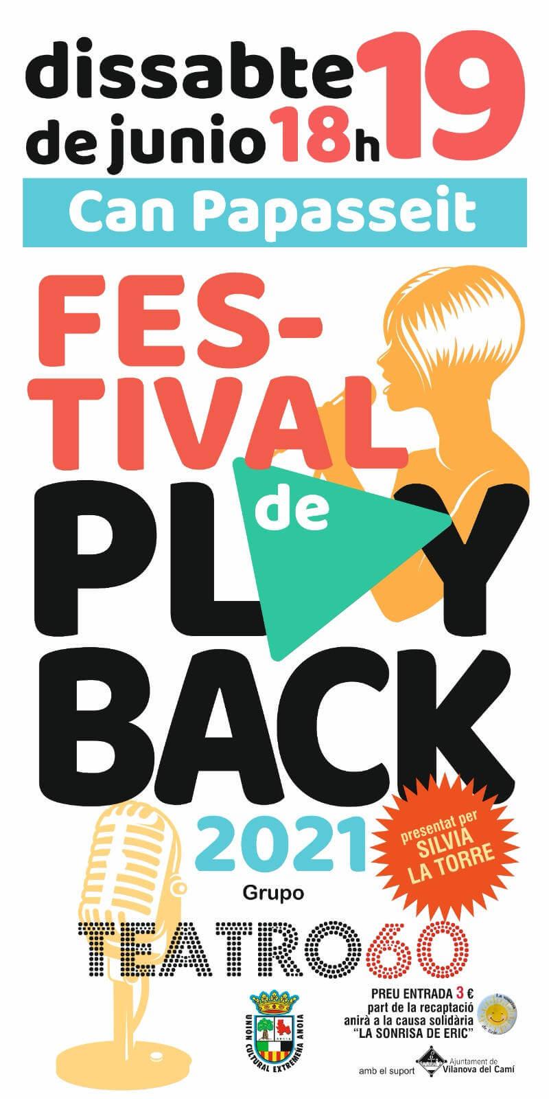 FESTIVAL DE PLAYBACK