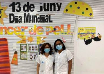 Dra Venteo i Dra Guzman_Proteccio solar