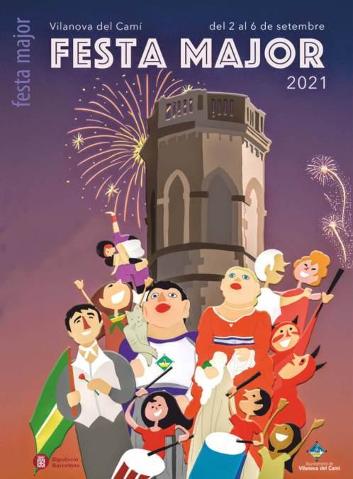 Poster butlleti Festa Major 2021