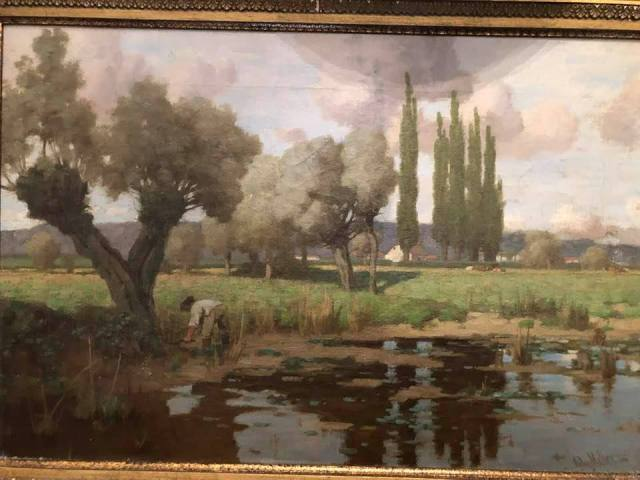 original painting restoration project John Miller