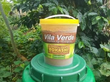 Adubo agroecológico Bokashi de Terra Vila Verde