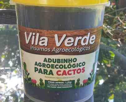 Adubo agroecológico para cactos