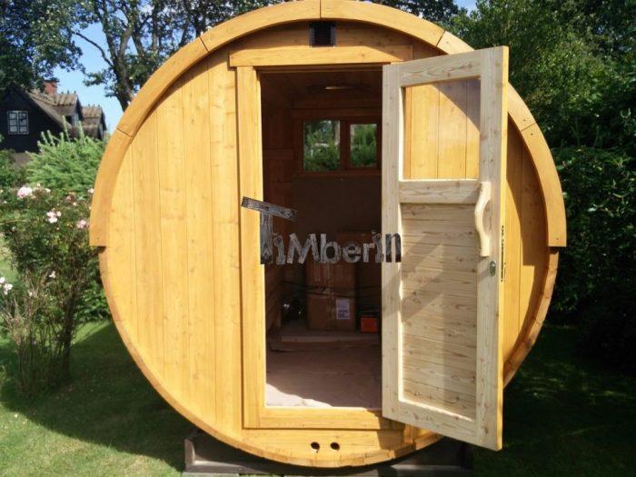 Udendørs Sauna I Træ Til Haven Martin Præstø Danmark