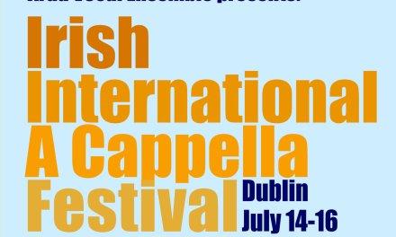Irish International A Cappella Festival debuterer i 2017