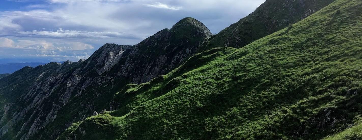 Bergsryggen vid Lespezi