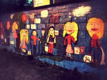 Wall art in Bantry. IE
