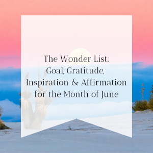 The Wonder List June Image