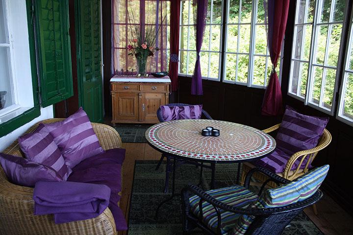 Wintergarten Sitzbereich