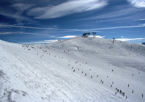 Bergluft bester Ausblick und Hüttengaudi
