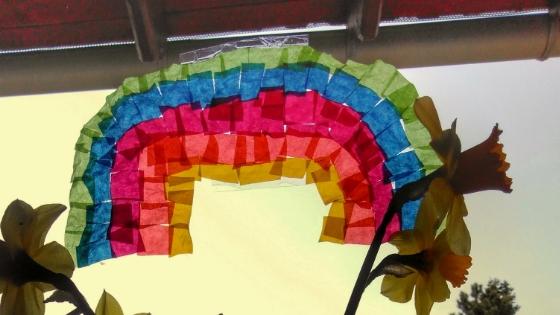 Banner Regenbogen - Coronakrise- So sieht unser neuer Alltag aus Teil 2