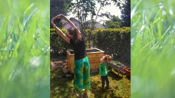 Yoga11 - Yoga für Kinder- Die Geschichte vom Mond zum Nachmachen
