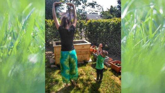 Yoga4 - Yoga für Kinder- Die Geschichte vom Mond zum Nachmachen