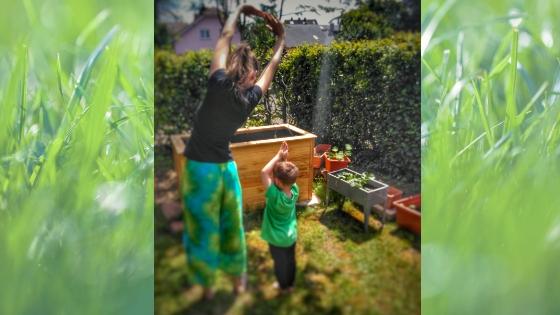 Yoga7 - Yoga für Kinder- Die Geschichte vom Mond zum Nachmachen
