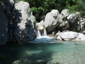 Paklenica Wasserfall