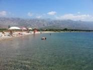 Strand im August