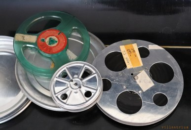 Pathe 9,5 mm filmreels