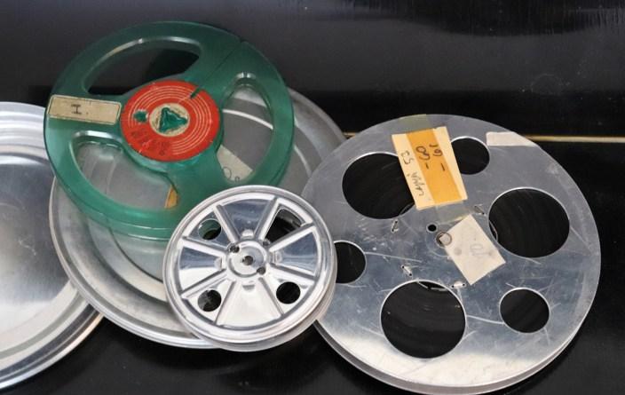 Pathe 9,5 mm filmreels